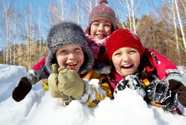 ¡Llegó la nieve! Protege a tus hijos en el invierno