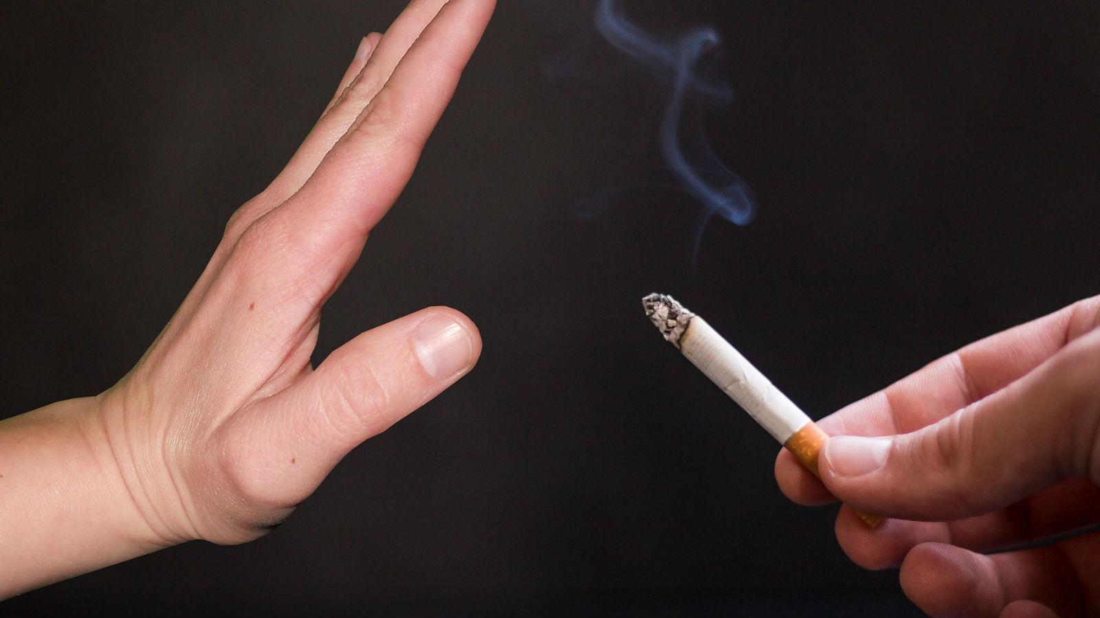 Resolución de año nuevo: ¡Dejar de fumar!