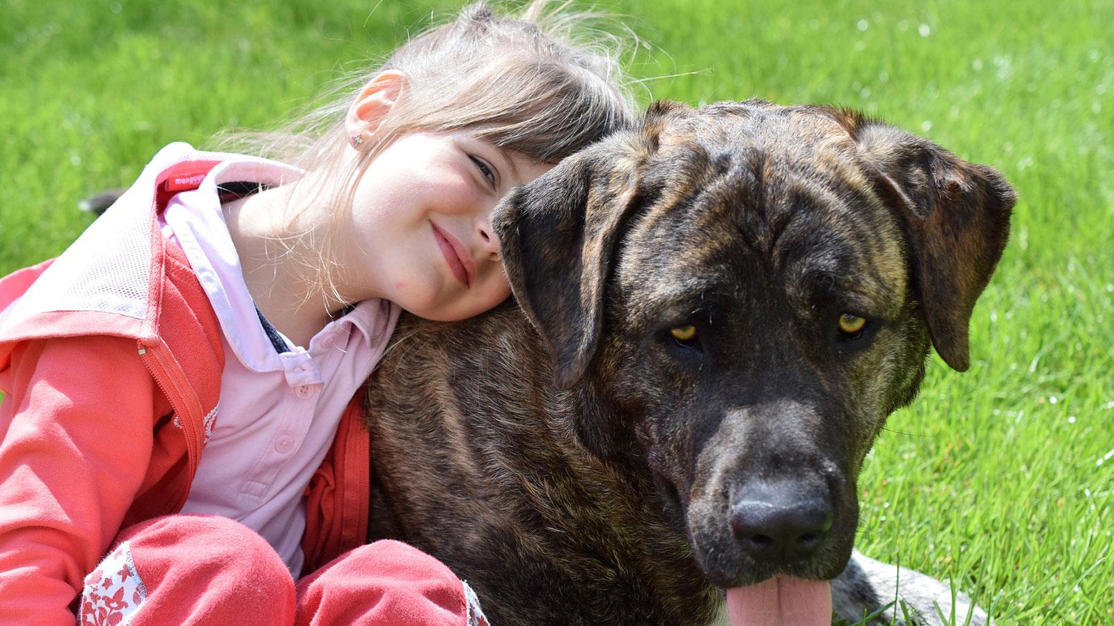 El perro: el mejor amigo de la salud de los niños