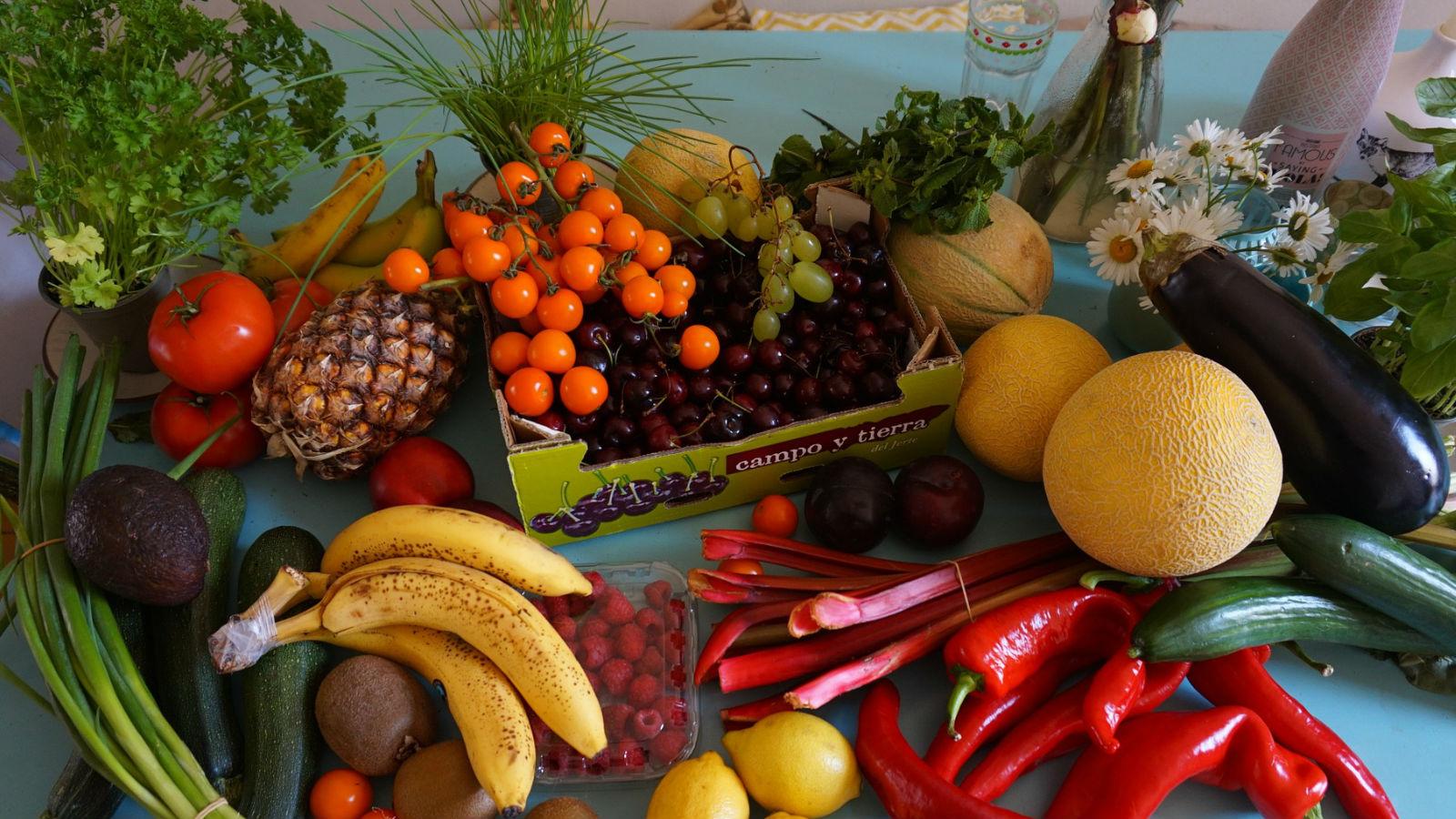 Cómo conservar al máximo el valor nutritivo de las frutas y verduras