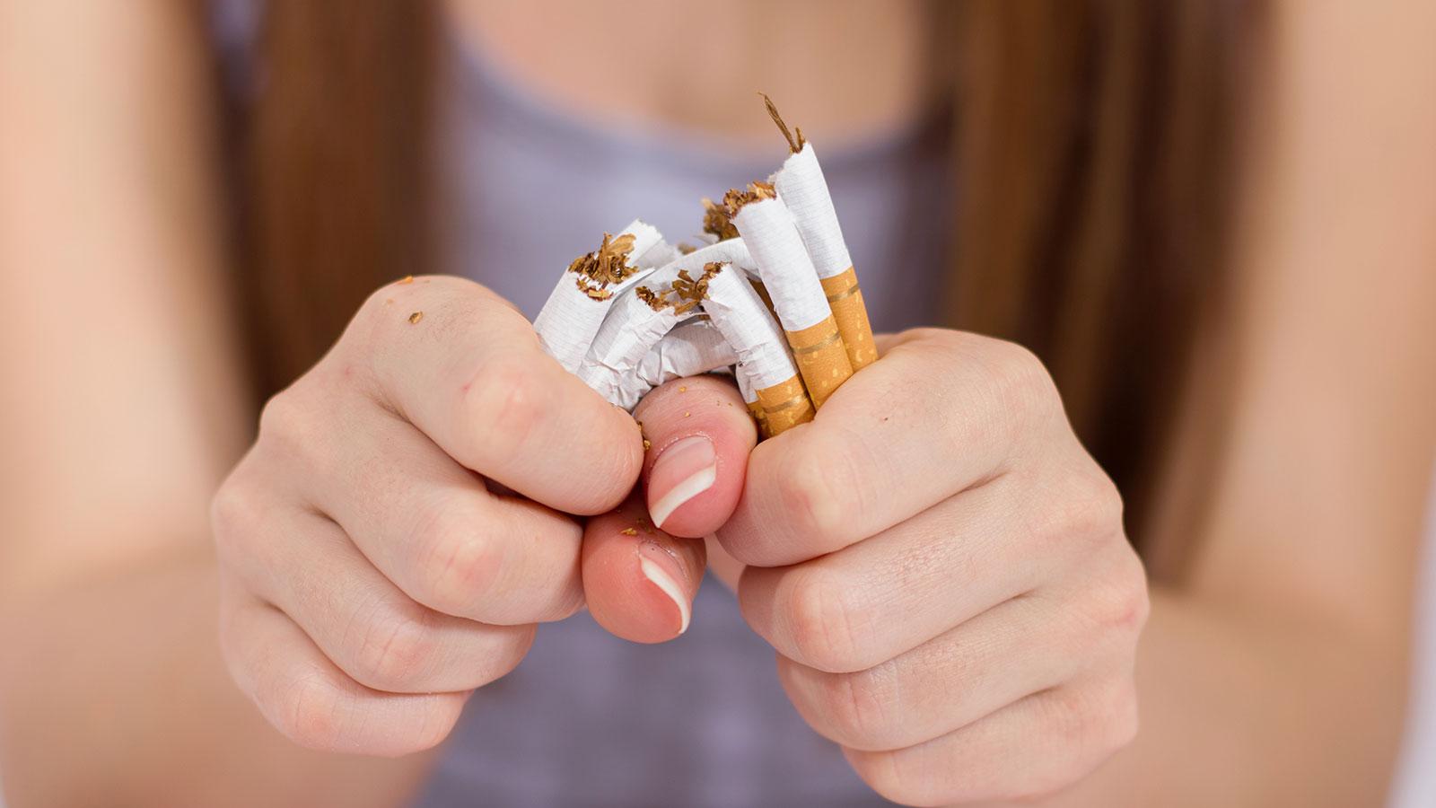Un día sin fumar: un día para empezar a sanar