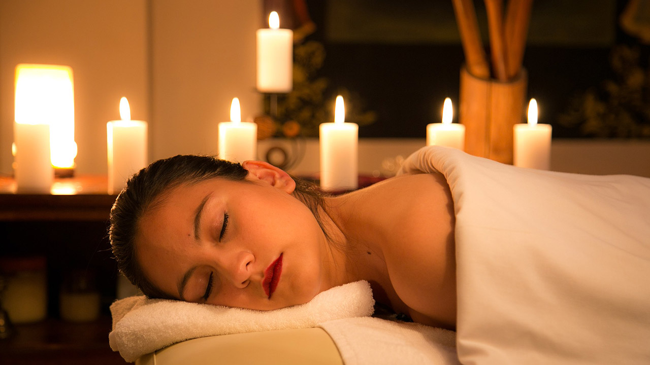 masaje con aromaterapia