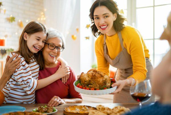 20 consejos para un Día de Acción de Gracias seguro y saludable