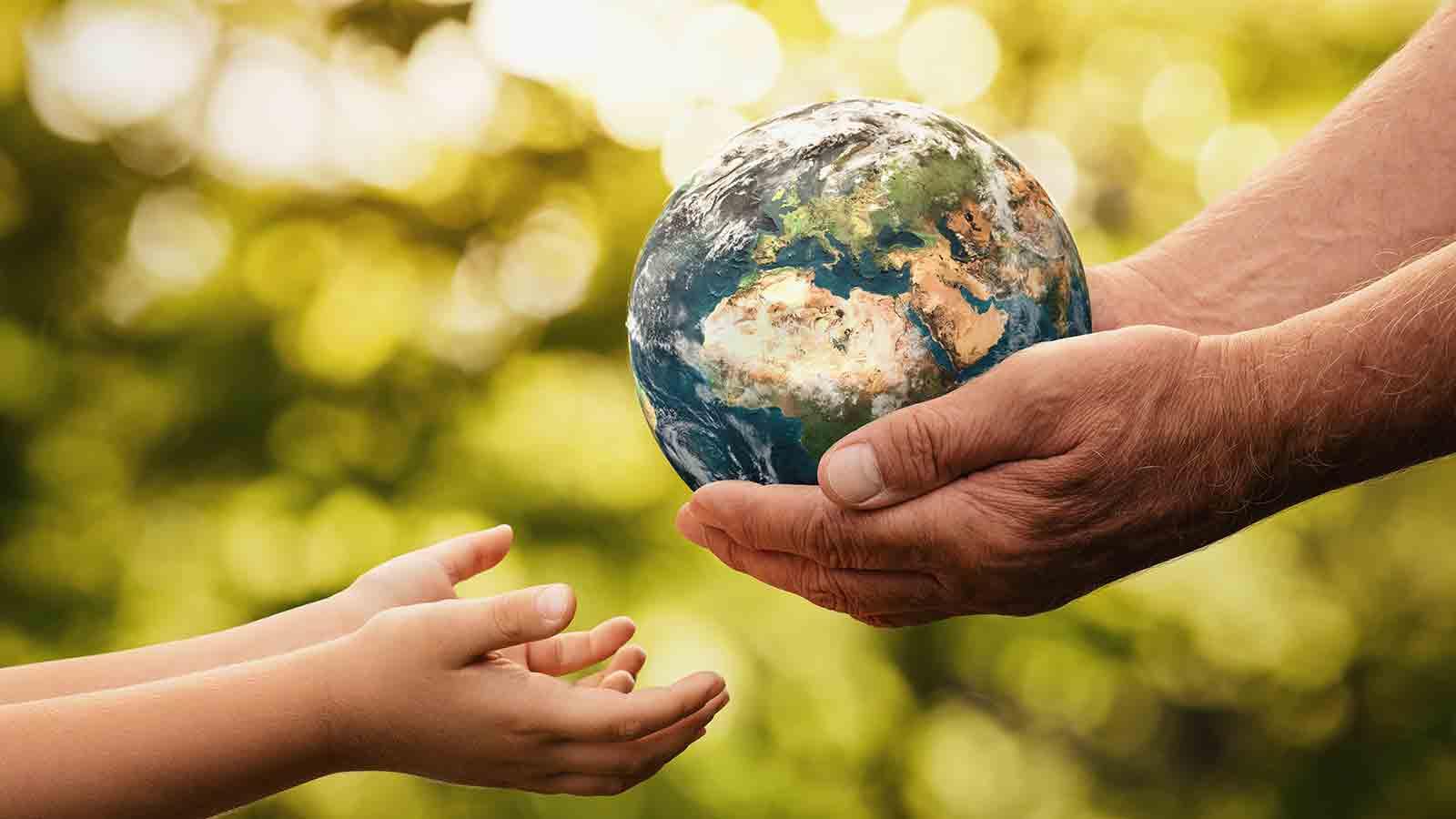 El planeta Tierra es nuestro hogar ¡Aprendamos a cuidarla!