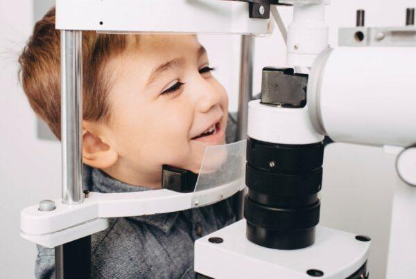 Tus hijos y los exámenes de la visión