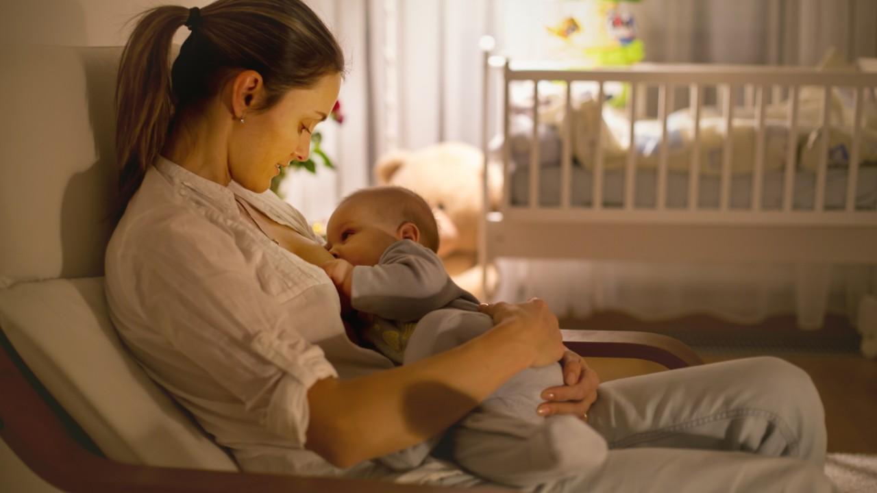 Leche materna, el mejor alimento para tu bebé