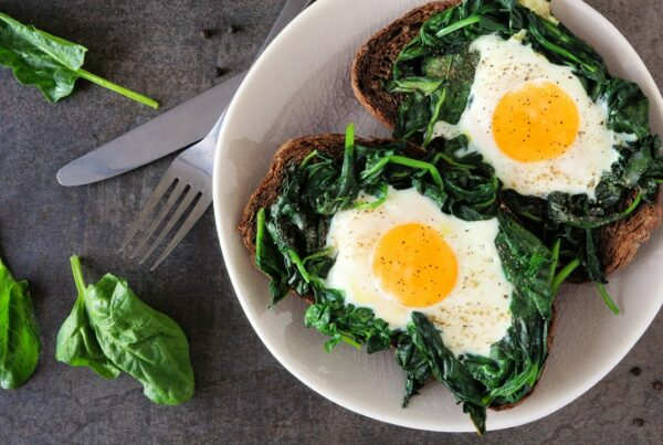 Los huevos y la espinaca mejoran tus reflejos