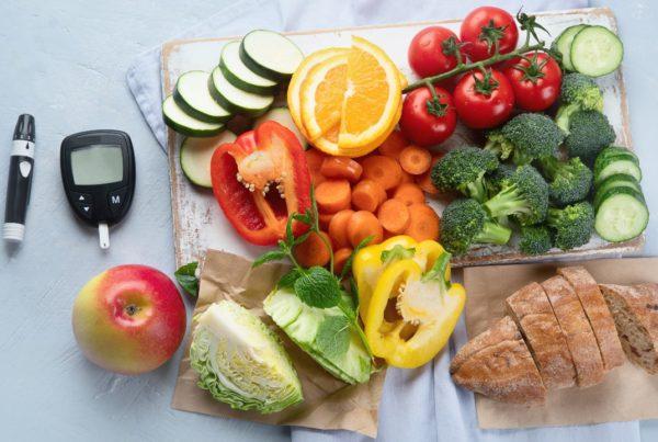 Dieta para diabéticos: controlando las porciones