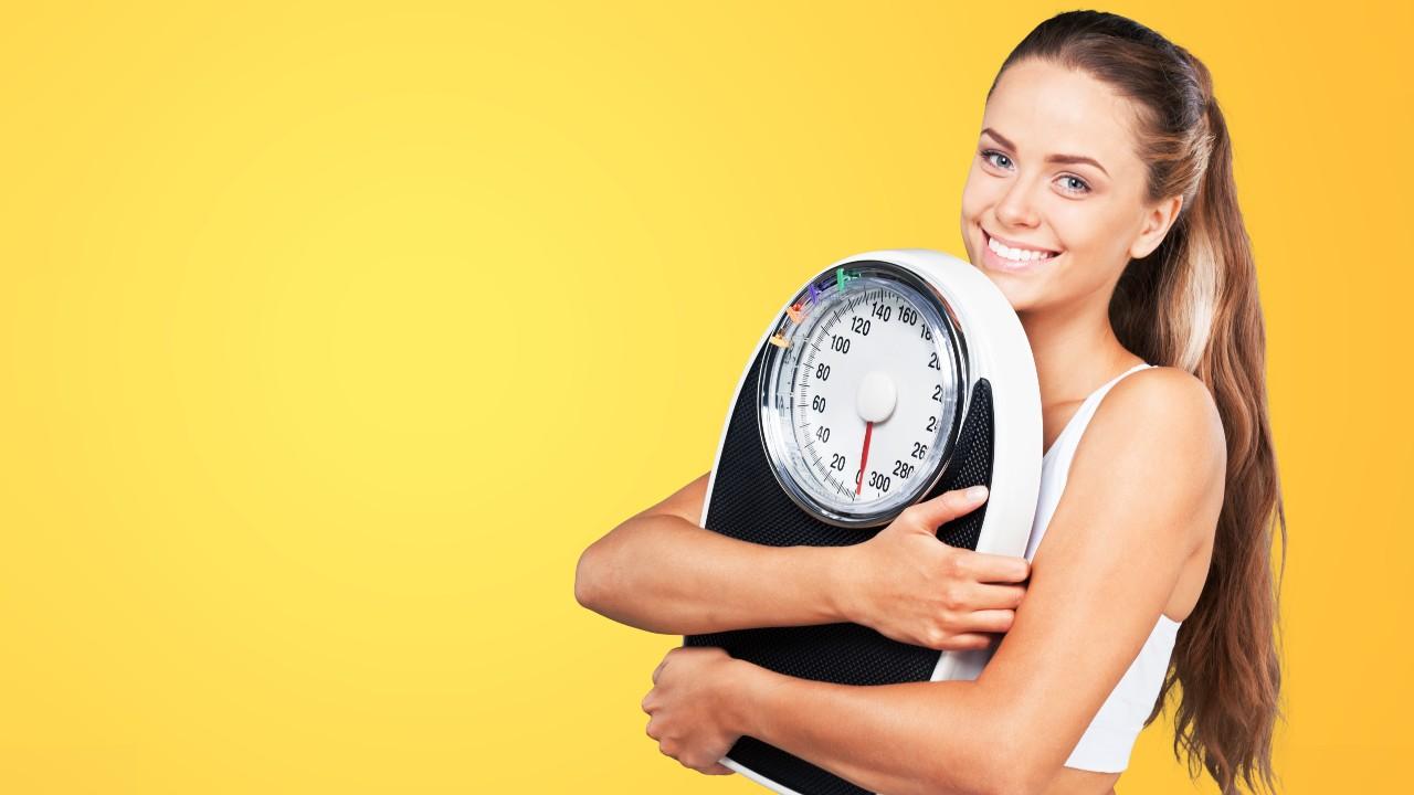 Báscula + gráfica = pérdida de peso