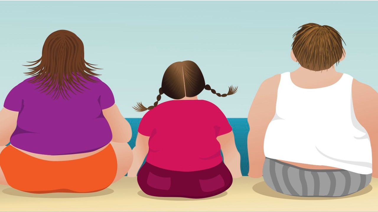 ¿Podrías heredar la obesidad?