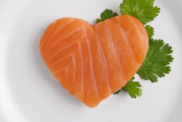 El pescado - una delicia para el corazón