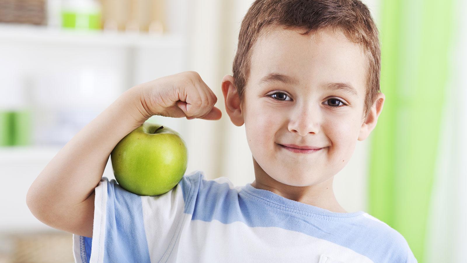 Las vitaminas que los niños necesitan
