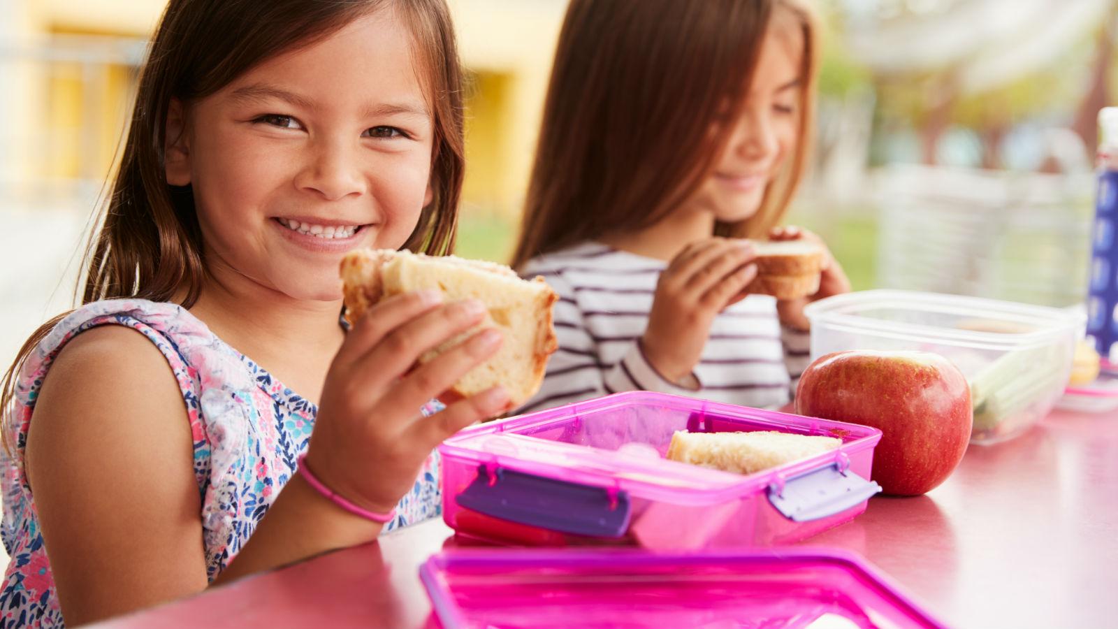 Almuerzos saludables para tus niños: 7 consejos
