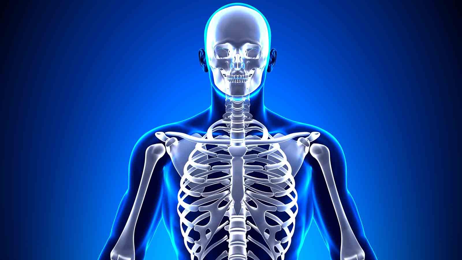 Sí. Los hombres también padecen de osteoporosis