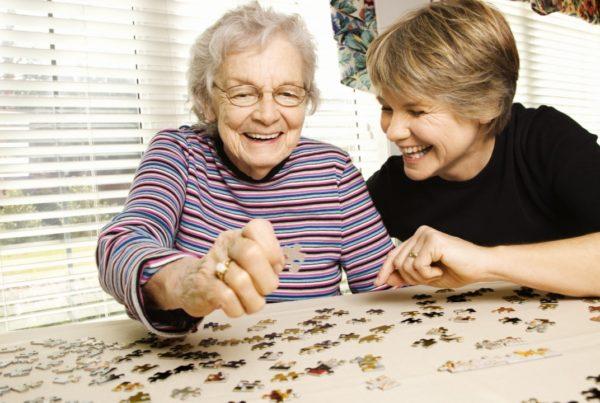 los rompecabezas y el Alzheimer
