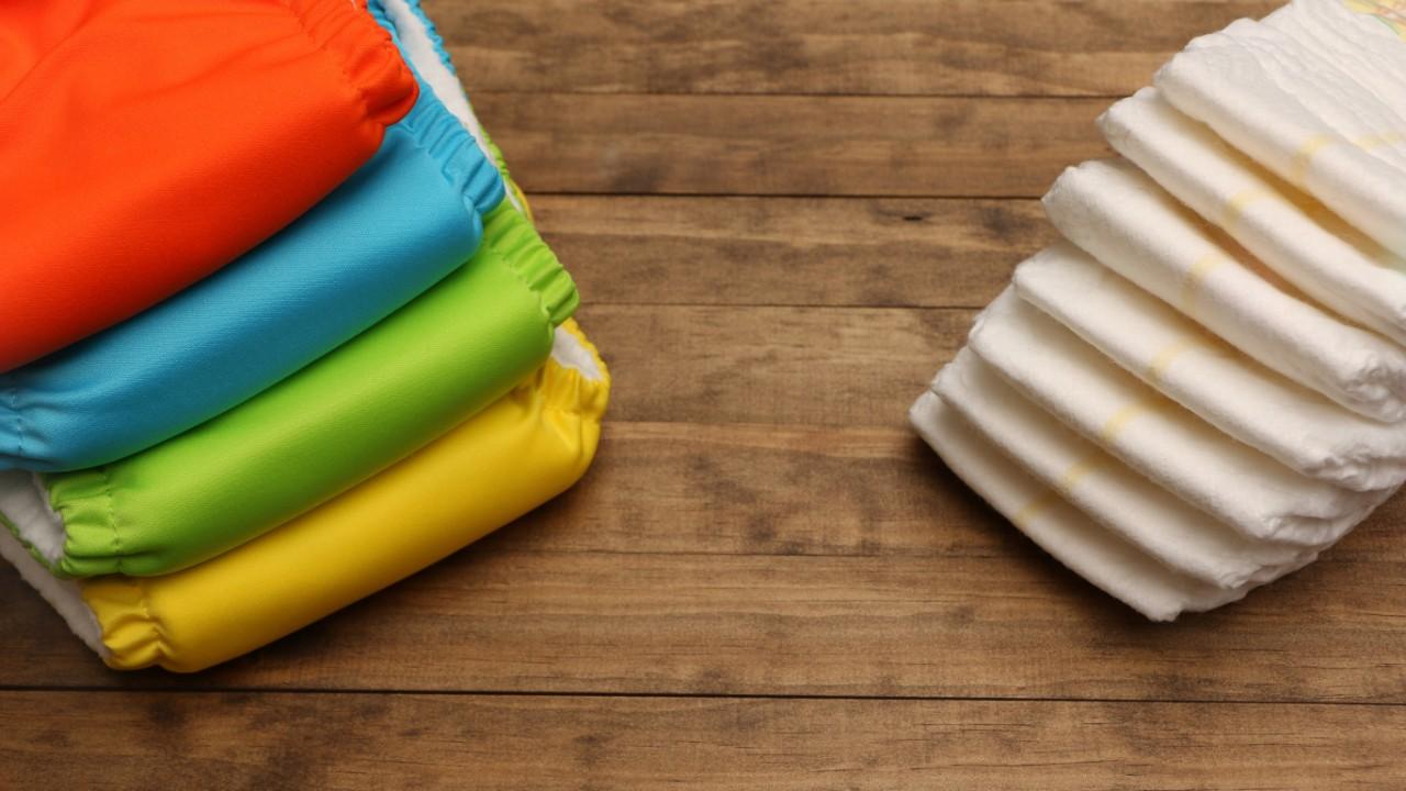 ¿Pañales de tela o pañales desechables?