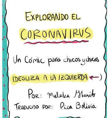Coronavirus Comic para niños - 1