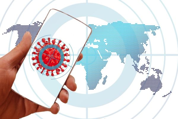 aplicaciones para rastrear el virus