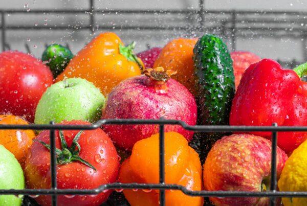 Recomendaciones para el manejo de las frutas y los vegetales