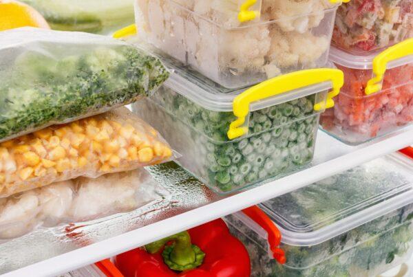 ¿Sabes cuánto tiempo puedes almacenar los alimentos?