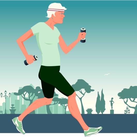 La caminata rápida mejora los síntomas del Parkinson