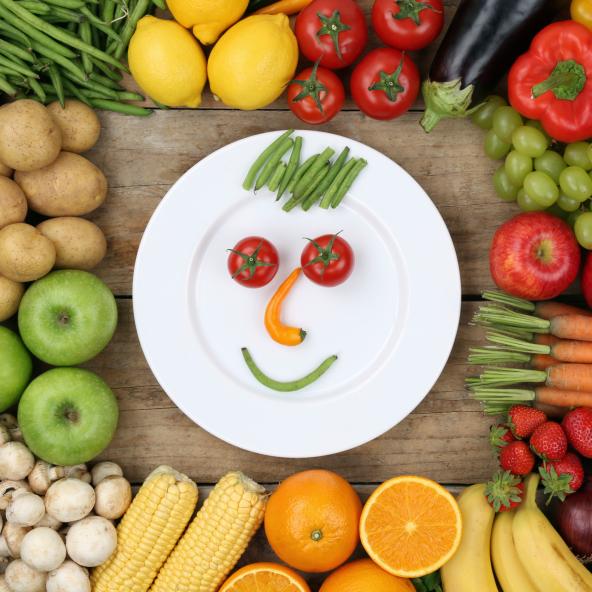 Comer más frutas y vegetales beneficia al cuerpo y a la mente