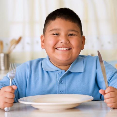 Obesidad infantil: Ser gordito, no significa estar sano