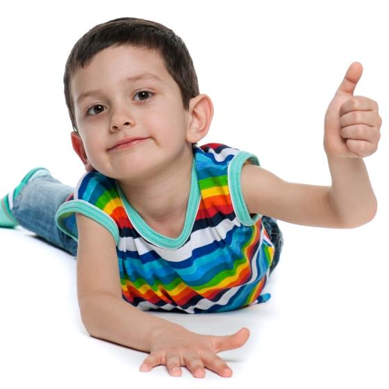Desarrollo del niño de los tres a los cinco años