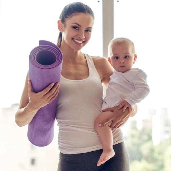 ejercicios después del parto