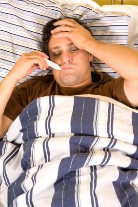Los hombres también padecen del sudor nocturno