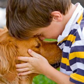 La terapia con perro para el autismo