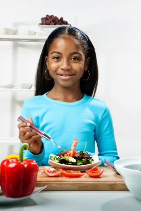 La dieta vegetariana: Una alternativa sana para niños y adolescentes