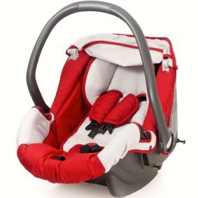¿En el automóvil con tu bebé? Que no te falte el asiento de seguridad