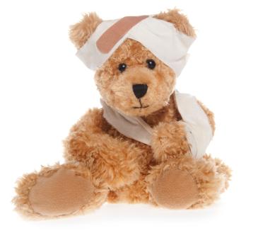 Una guía de primeros auxilios en caso de que el niño sufra un pequeño accidente