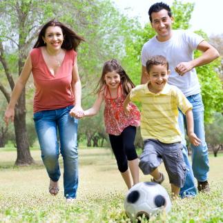 Cuando los padres entran en acción, los hijos también lo hacen