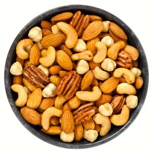 Frutos secos (nueces): muy nutritivos, aunque la envoltura sea pequeña