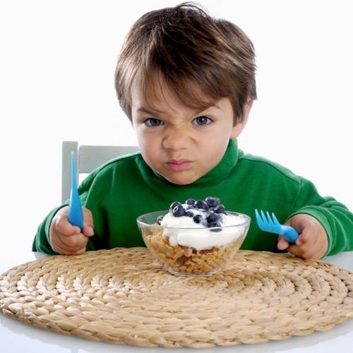 ¡Ayúdenme!  Mi niño es muy delicado con la comida, no quiere comer