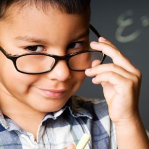 El éxito en la escuela depende la vista