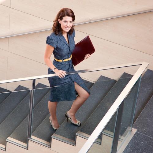 Hacer ejercicio es tan sencillo como subir las escaleras