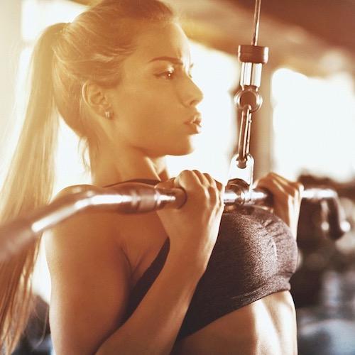 En cuanto al ejercicio: ¡No te rindas!