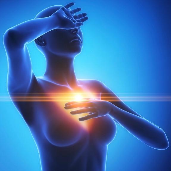 Los síntomas de un ataque al corazón